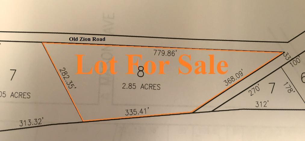 Old Zion Rd Egg Harbor Township NJ Lot For Sale Land 2.85 Acres
