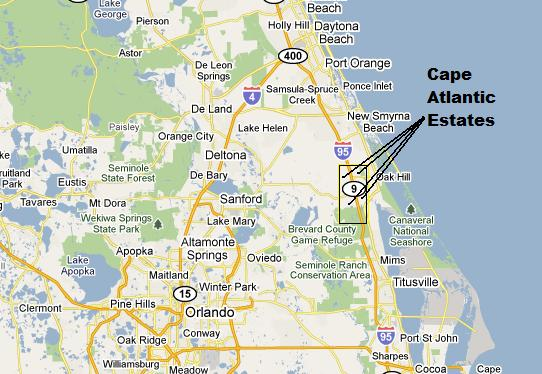 Cape Atlantic Estates Map