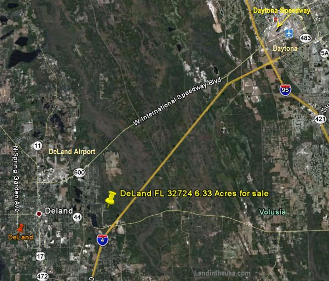 DeLand Daytona FL Land for sale