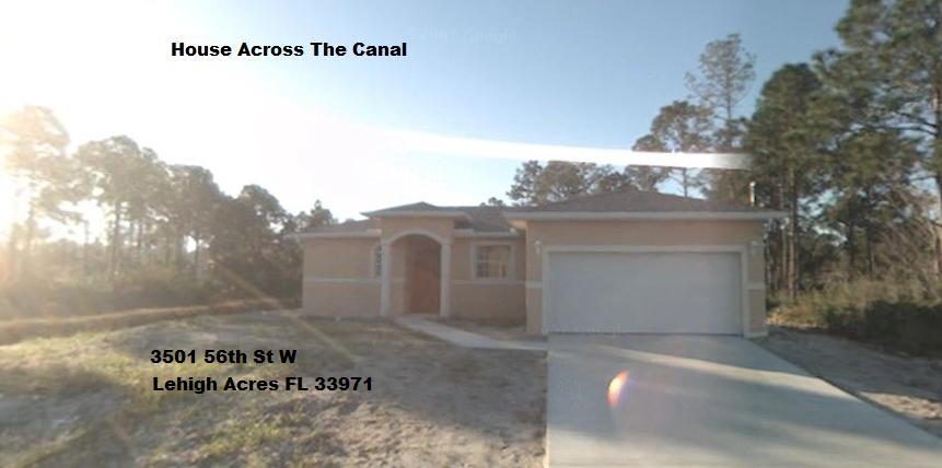 Lehigh Acres Canal home