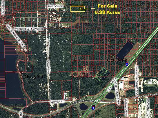 DeLand FL 6.33 Acres for sale