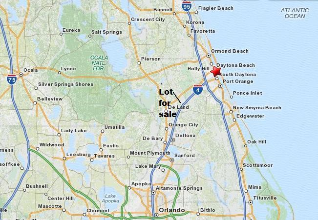 Florida Land 5 Acres Deland Daytona Beach Area