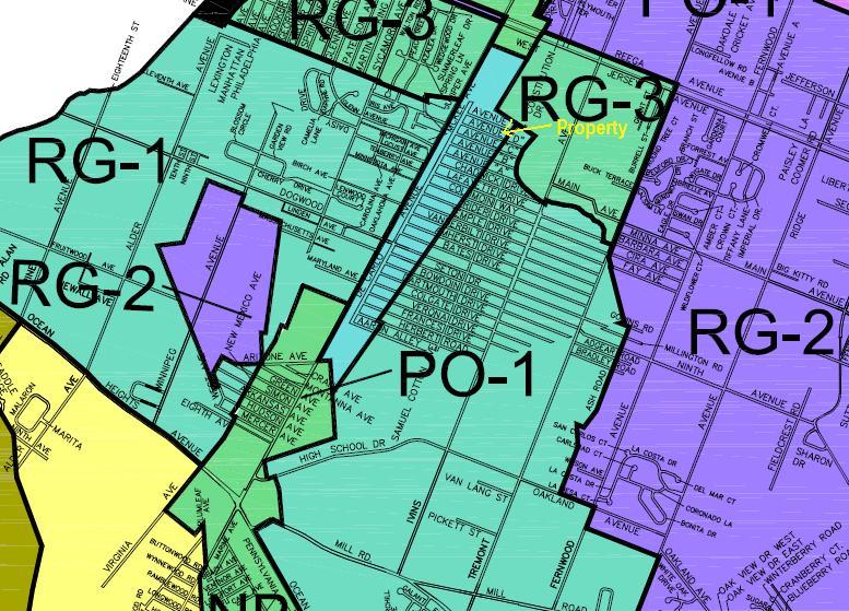 Egg Harbor Township NJ Business zoning twp